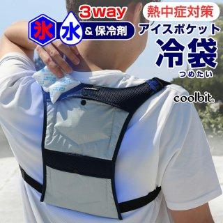 クールビット アイスポケット冷袋(2ポケットタイプ) 4CL-IP2