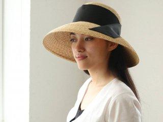 カサブランカスタイルの麦わら帽子 ハリー Holly