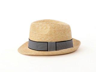 麦わら素材の中折れ帽 ジーン Jean