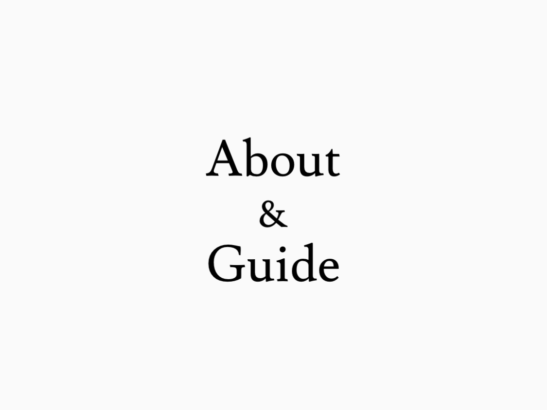 About and Guide