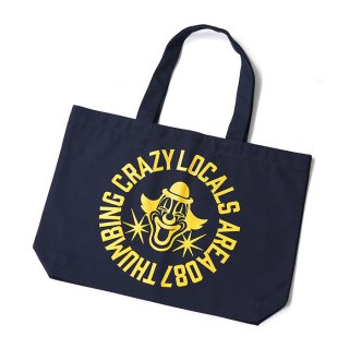 THUMBING/BROCK CIRCLE TOTEBAG/ネイビー