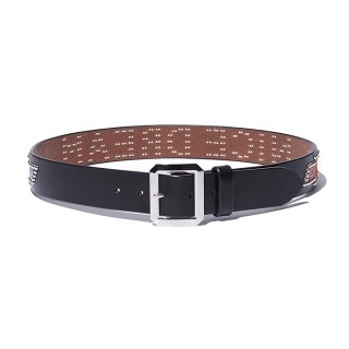 RADIALL/CHEVY-STUDDED GARRISON BELT