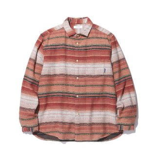 RADIALL/EL CAMINO-REGULAR COLLARED SHIRT L/S