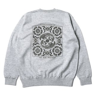 RADIALL/TEMPLE-CREW NECK SWEATSHIRT L/S/グレー【30%OFF】<img class='new_mark_img2' src='https://img.shop-pro.jp/img/new/icons20.gif' style='border:none;display:inline;margin:0px;padding:0px;width:auto;' />