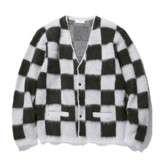 RADIALL/TEN SECONDS-CARDIGAN SWEATER L/S