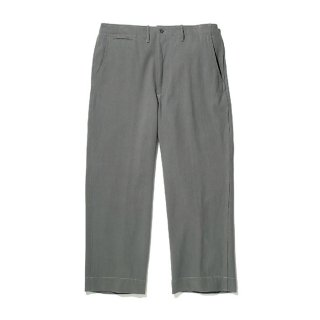 RADIALL/ROAD SIDE-WIDE FIT TROUSERS/グレー