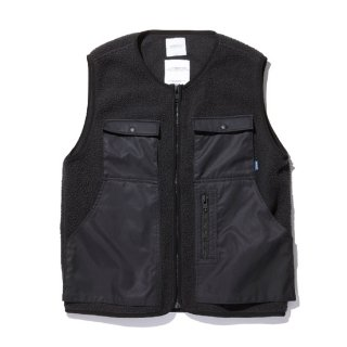 RADIALL/SMOKEY CAMPER-FLEECE VEST