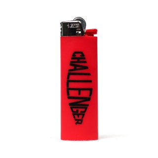 CHALLENGER/LOGO LIGHTER/レッド