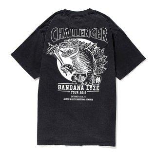 CHALLENGER/BANDANA LYZE SEATTLE TEE/ブラック