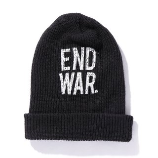 CHALLENGER/END WAR KNIT CAP/ブラック