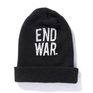CHALLENGER/END WAR KNIT CAP/ブラック