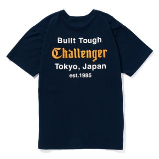 CHALLENGER/BUILT TOUGH POCKET TEE/ネイビー