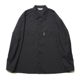 COOTIE/T/W WORK L/S SHIRT/ブラック