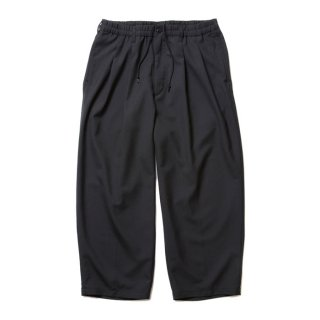 COOTIE/T/C 2 TUCK EASY PANTS/ブラック