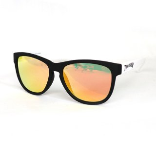 THRASHER/KIDS SUNGLASSES/DAZZLE/ブラック×ホワイト