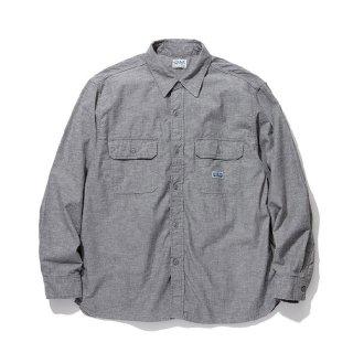 RADIALL/T.N. WORK SHIRT L/S/ブラック