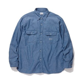 RADIALL/T.N. WORK SHIRT L/S/ブルー