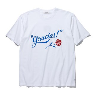 <img class='new_mark_img1' src='https://img.shop-pro.jp/img/new/icons8.gif' style='border:none;display:inline;margin:0px;padding:0px;width:auto;' />RADIALL/GRACIAS-CREW NECK T-SHIRT S/S/ホワイト