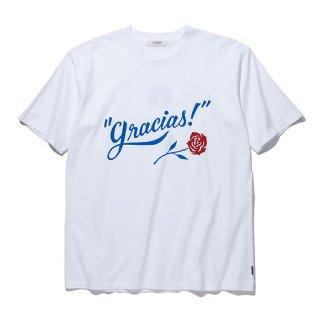 RADIALL/GRACIAS-CREW NECK T-SHIRT S/S/ホワイト