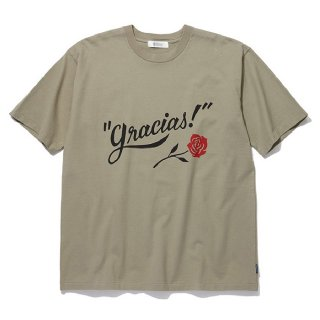 <img class='new_mark_img1' src='https://img.shop-pro.jp/img/new/icons8.gif' style='border:none;display:inline;margin:0px;padding:0px;width:auto;' />RADIALL/GRACIAS-CREW NECK T-SHIRT S/S/カーキ
