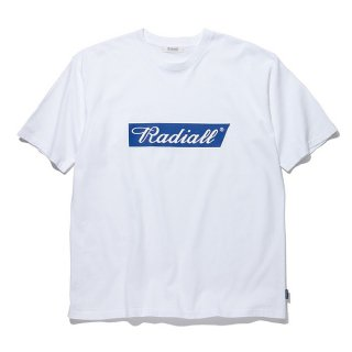 <img class='new_mark_img1' src='https://img.shop-pro.jp/img/new/icons8.gif' style='border:none;display:inline;margin:0px;padding:0px;width:auto;' />RADIALL/FLAGS-CREW NECK T-SHIRT S/S/ホワイト