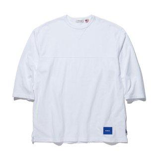 RADIALL/FADE-CREW NECK T-SHIRT 3Q/S/ホワイト