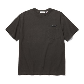 <img class='new_mark_img1' src='https://img.shop-pro.jp/img/new/icons8.gif' style='border:none;display:inline;margin:0px;padding:0px;width:auto;' />RADIALL/FLAGS-CREW NECK POCKET T-SHIRT S/S/ブラック