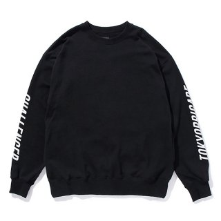 CHALLENGER/CUSTOM C/N SWEAT/ブラック