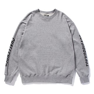 CHALLENGER/CUSTOM C/N SWEAT/グレー