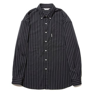 COOTIE/T/C BUTTONDOWN L/S SHIRT/ブラック