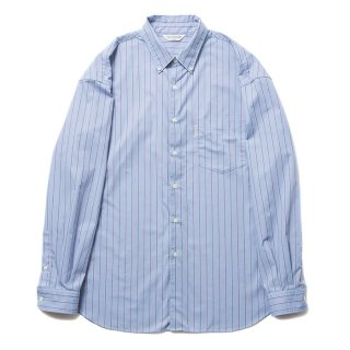 COOTIE/T/C BUTTONDOWN L/S SHIRT/サックス