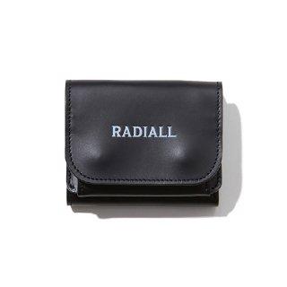 RADIALL/PLAIN-TRIFOLD WALLET/ブラック