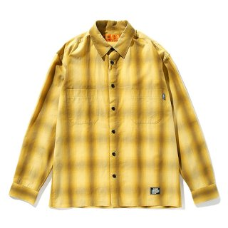 <img class='new_mark_img1' src='https://img.shop-pro.jp/img/new/icons8.gif' style='border:none;display:inline;margin:0px;padding:0px;width:auto;' />CHALLENGER/L/S OLDIES CHECK SHIRT/マスタード