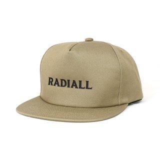 RADIALL/CVS TRUCKER CAP/ベージュ