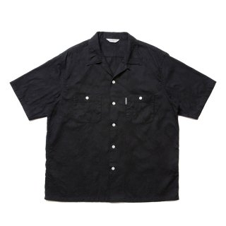 COOTIE/PAISLEY OPEN-NECK S/S SHIRT/ブラック