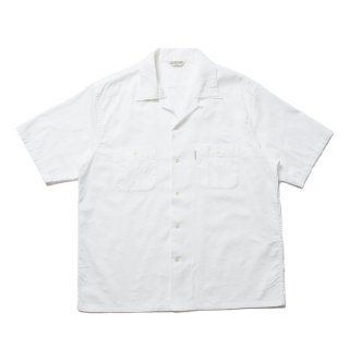 <img class='new_mark_img1' src='https://img.shop-pro.jp/img/new/icons8.gif' style='border:none;display:inline;margin:0px;padding:0px;width:auto;' />COOTIE/PAISLEY OPEN-NECK S/S SHIRT/ホワイト