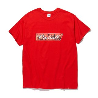 RADIALL/FLAME FLAGS-CREW NECK T-SHIRT S/S/レッド【20%OFF】<img class='new_mark_img2' src='https://img.shop-pro.jp/img/new/icons20.gif' style='border:none;display:inline;margin:0px;padding:0px;width:auto;' />