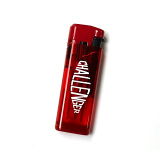 CHALLENGER/LOGO TURBO LIGHTER/レッド