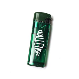CHALLENGER/LOGO TURBO LIGHTER/グリーン