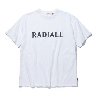 <img class='new_mark_img1' src='https://img.shop-pro.jp/img/new/icons8.gif' style='border:none;display:inline;margin:0px;padding:0px;width:auto;' />RADIALL/LOGO TYPE-CREW NECK T-SHIRT S/S/ホワイト