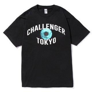 CHALLENGER/TOKYO EYE TEE/ブラック