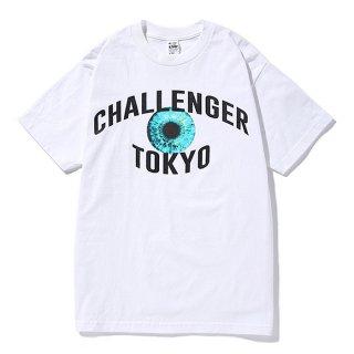 CHALLENGER/TOKYO EYE TEE/ホワイト