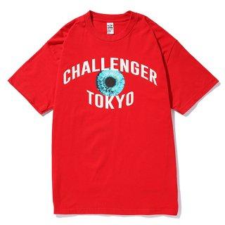 CHALLENGER/TOKYO EYE TEE/レッド