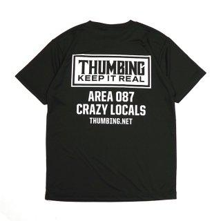 THUMBING/ACTIVE S/S TEE/ブラック