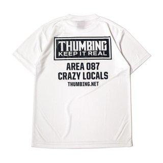 THUMBING/ACTIVE S/S TEE/ホワイト
