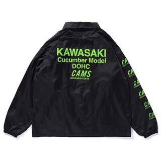 CHALLENGER/CAMS MOTOR COACH JACKET/ブラック