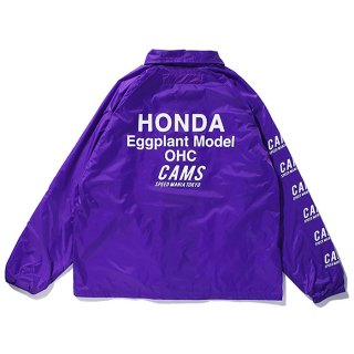 CHALLENGER/CAMS MOTOR COACH JACKET/パープル