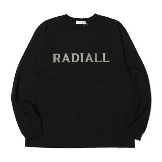 <img class='new_mark_img1' src='https://img.shop-pro.jp/img/new/icons8.gif' style='border:none;display:inline;margin:0px;padding:0px;width:auto;' />RADIALL/LOGO TYPE-CREW NECK T-SHIRT L/S/ブラック