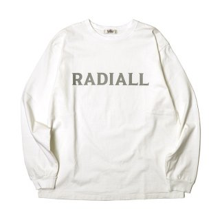 <img class='new_mark_img1' src='https://img.shop-pro.jp/img/new/icons8.gif' style='border:none;display:inline;margin:0px;padding:0px;width:auto;' />RADIALL/LOGO TYPE-CREW NECK T-SHIRT L/S/ホワイト