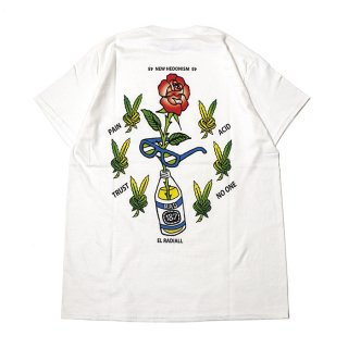RADIALL/HEDONISM-CREW NECK T-SHIRT S/S/ホワイト【20%OFF】<img class='new_mark_img2' src='https://img.shop-pro.jp/img/new/icons20.gif' style='border:none;display:inline;margin:0px;padding:0px;width:auto;' />
